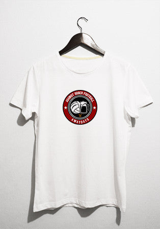 against sober football t-shirt