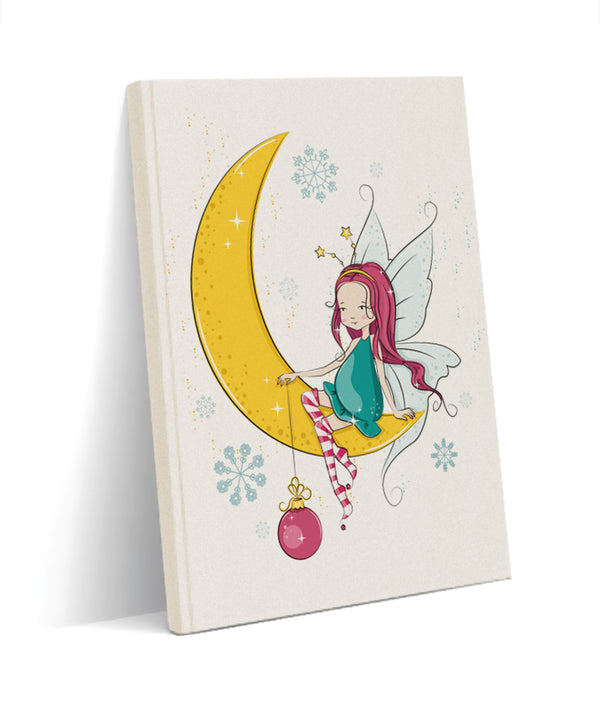 angel girl Kanvas defter - basmatik.com