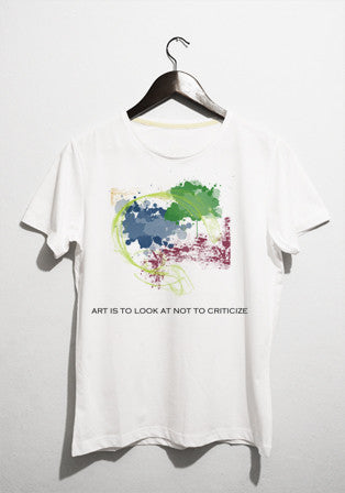 art is to look t-shirt - basmatik.com