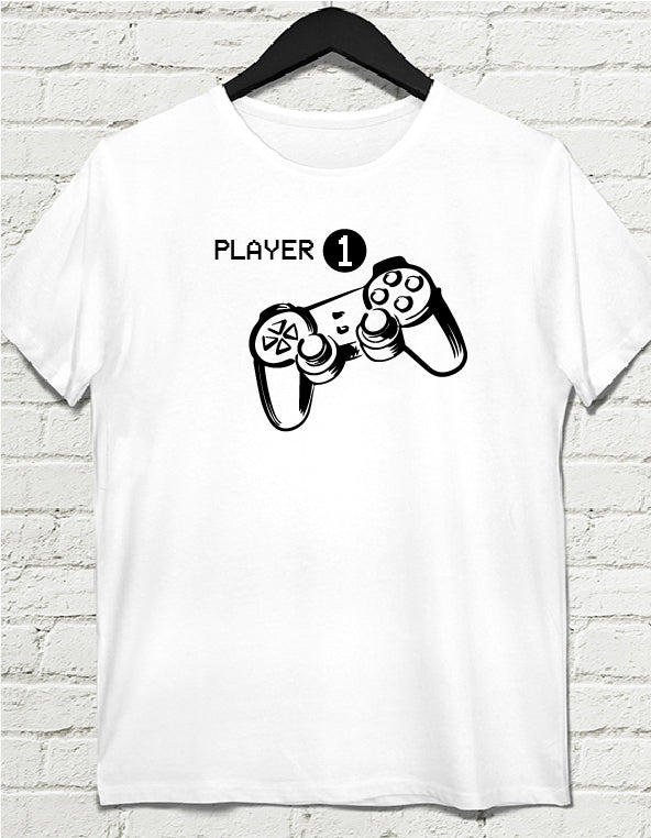 player 1 tshirt
