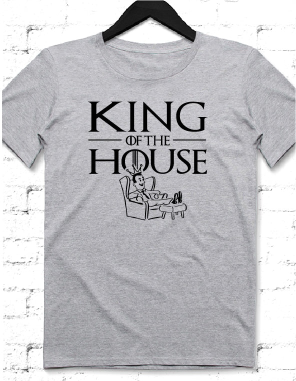 King House gri tshirt