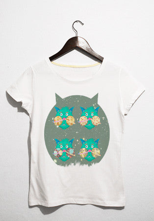 Cat Space t-shirt - basmatik.com