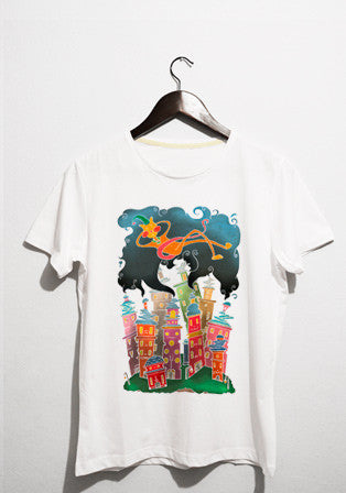 city's sleep t-shirt - basmatik.com