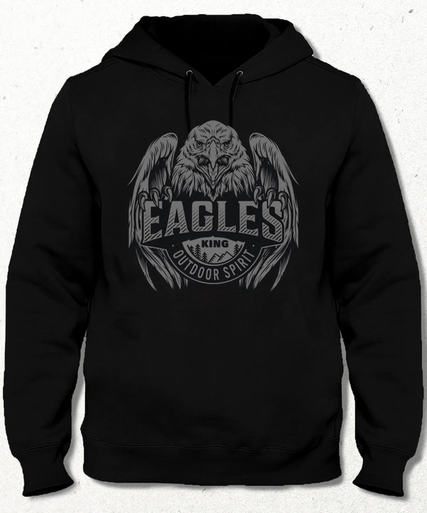 Eagles king kapşonlu - basmatik.com