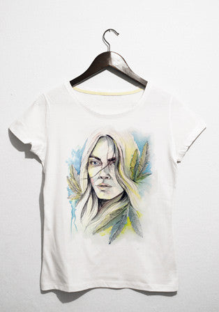 feather t-shirt - basmatik.com