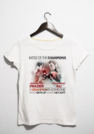 fraizer vs ali t-shirt