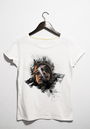 game of arya t-shirt
