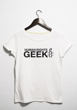 human rights geek t-shirt