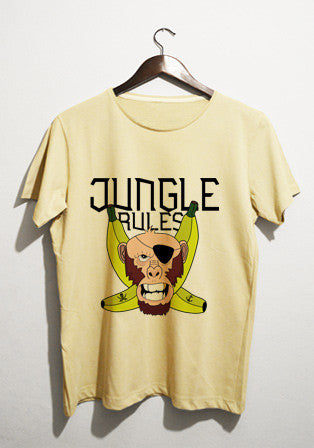 jungle rules t-shirt - basmatik.com