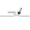 words are wind t-shirt