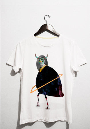 monster face bug t-shirt