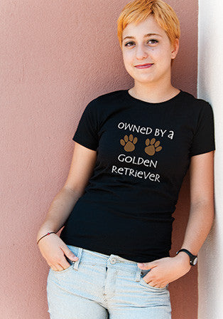 owned by golden t-shirt