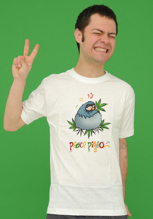 peace pigeon t-shirt