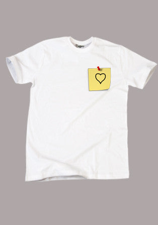 post it t-shirt