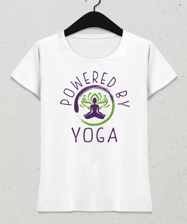 Powered yoga tişört