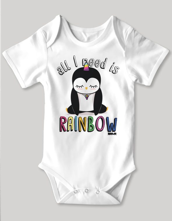 Rainbow bebek body