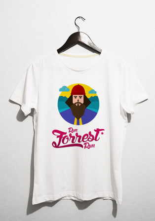 run forest run t-shirt - basmatik.com