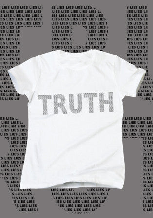 truth beyaz t-shirt