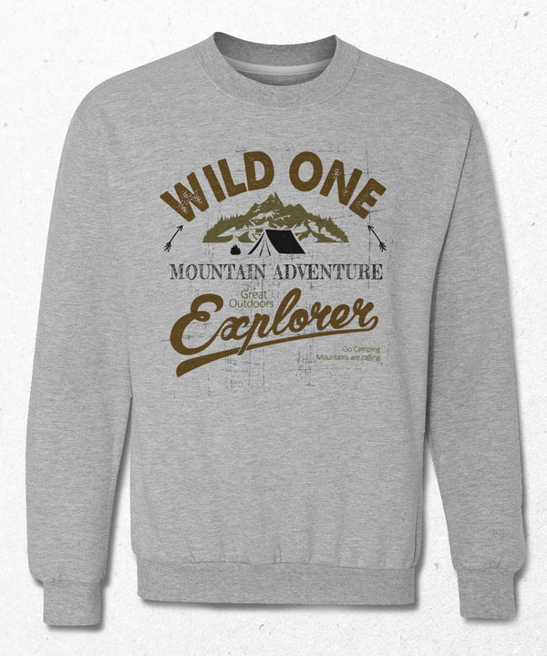 wildone outdoor sweatshirt - basmatik.com
