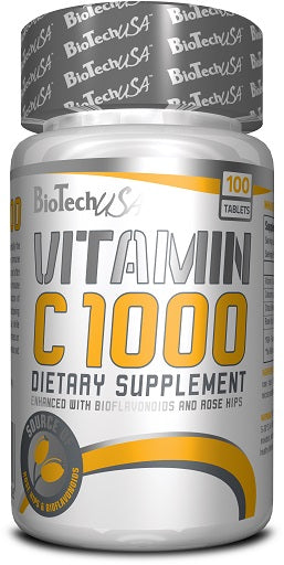 BioTech Vitamin C - 100 Tabletten