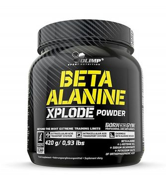 Olimp XPLODE Beta Alanin - 420g Orange