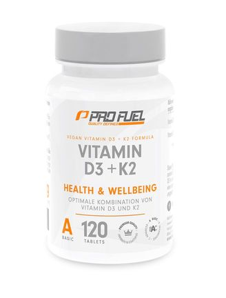 ProFuel Vitamin D3&K2 - 120 Tabletten