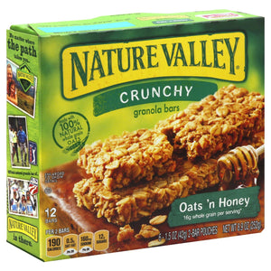 Nature Valley™ Crunchy Granola Bars, Oats n Honey