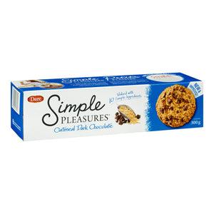Dare Simple Pleasures Cookies - Oatmeal & Dark Chocolate