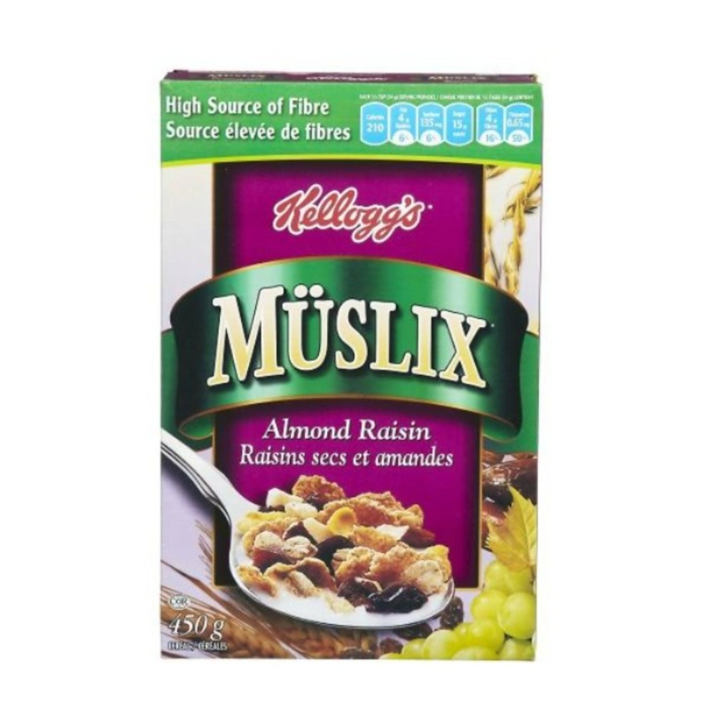 Kellogg's Müslix Almond Raisin Cereal
