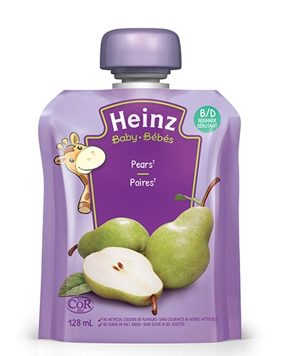 Heinz Baby Food Pouch - Strained Pear