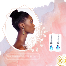 Load image into Gallery viewer, Inumidun Pearl, Swarovski and Sterling Silver Earrings