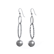 Load image into Gallery viewer, Yetunde Pearl and Sterling Silver Earrings