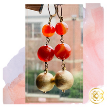 Load image into Gallery viewer, Desert Gold Earrings