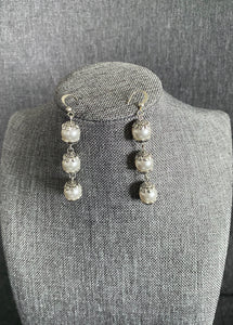 Toniloba Pearl and Silver Earrings