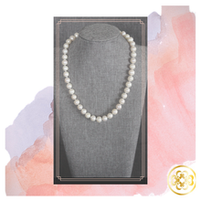 Load image into Gallery viewer, Ronke Single Strand hand knotted Pearl Necklace