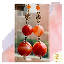 Load image into Gallery viewer, Kehinde Quartz drop earrings