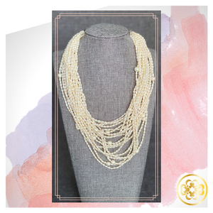 Oyin Multistrand Pearl Necklace