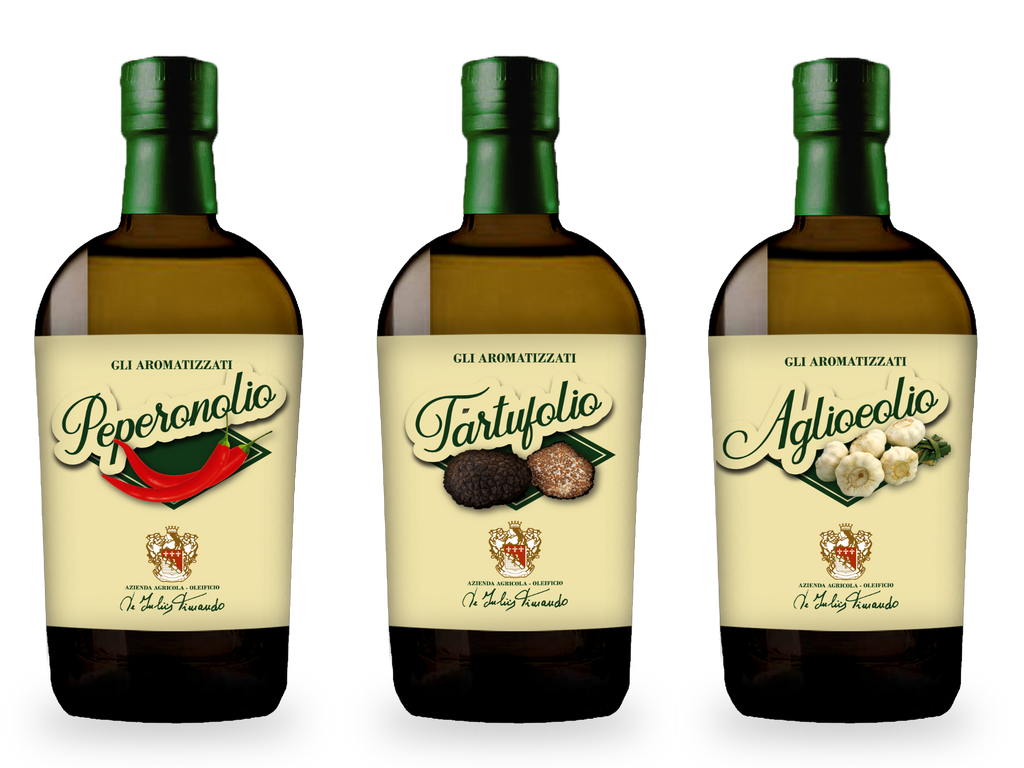 Mix of Infused Extra Virgin Olive Oil - Italian Farmers