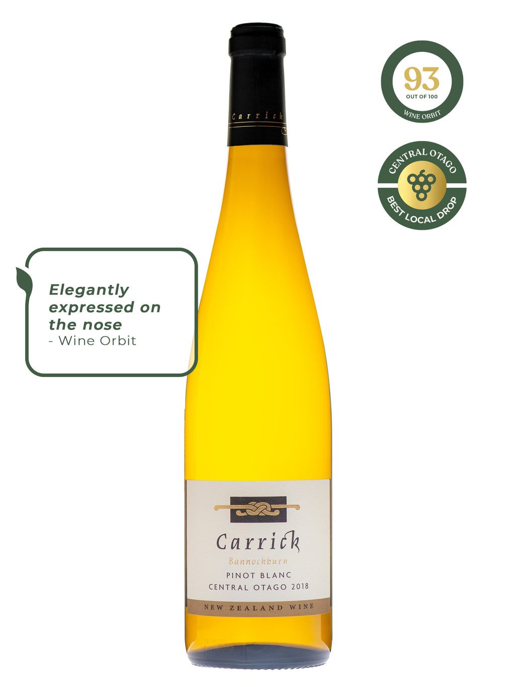 Carrick Winery, Pinot Blanc, Central Otago, Central Otago Wine, New Zealand Wine, New Zealand Winery, Online Wine Store, New Zealand Wine Shop, Small Business, Winetopia, Auckland Wine Events