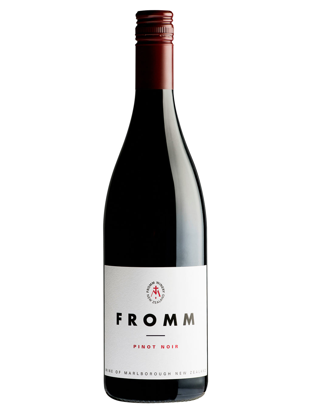 Fromm Pinot Noir, New Zealand Wine, Marlborough Pinot Noir, Fromm Winery, Winetopia, Auckland Restaurant Month, Auckland Wine Events, Wine Events NZ, Online Wine Store, New Zealand Wine Shop, Red Wine, Pinot Noir
