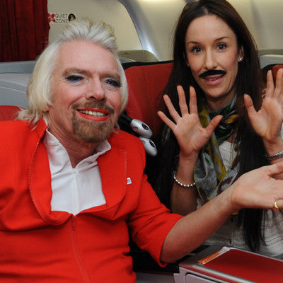 Flightamins meets Sir Richard Branson