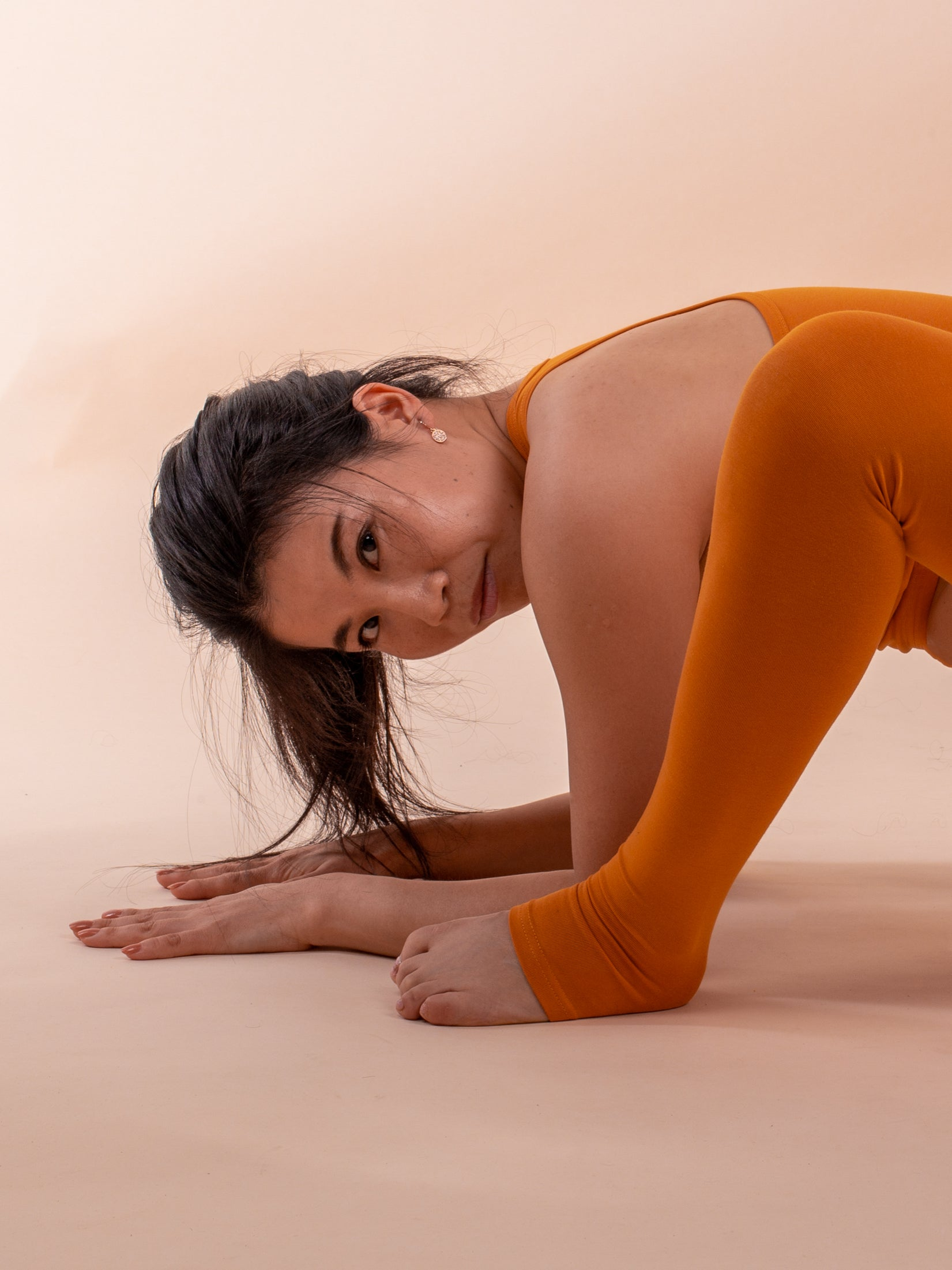Saga yoga pants, honey - flowcopenhagen.com
