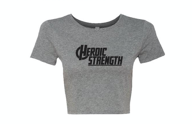 Women's Heroic Strength Crop Tee