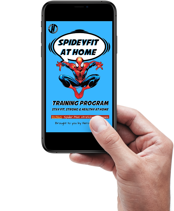 Spideyfit At-Home Training Program