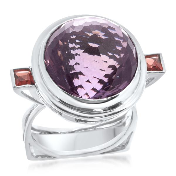 925 Silver Ring With Amethyst - My Super Hot Deals