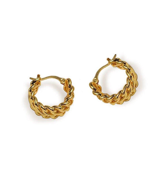 Chain Link Vintage Hoop Gold - My Super Hot Deals