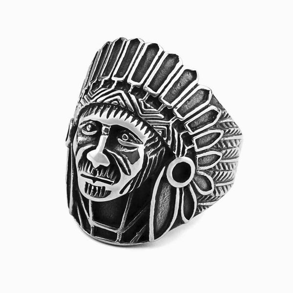 Indian Chiefs Head Ring - My Super Hot Deals