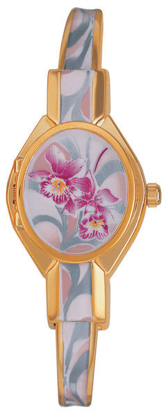 ANDRE MOUCHE - Orchidee Gold Handmade Women Swiss Watch in Pink/Red - My Super Hot Deals