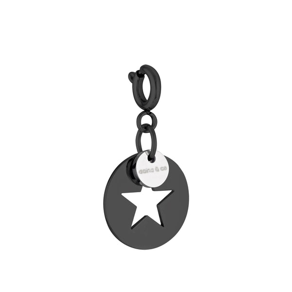 Star On Disc Charm - My Super Hot Deals