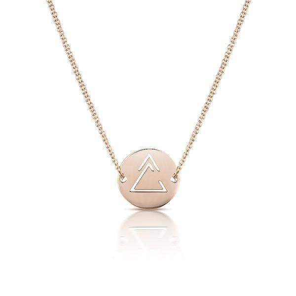 Unclosed Delta Necklace with Diamond Cut Chain - My Super Hot Deals